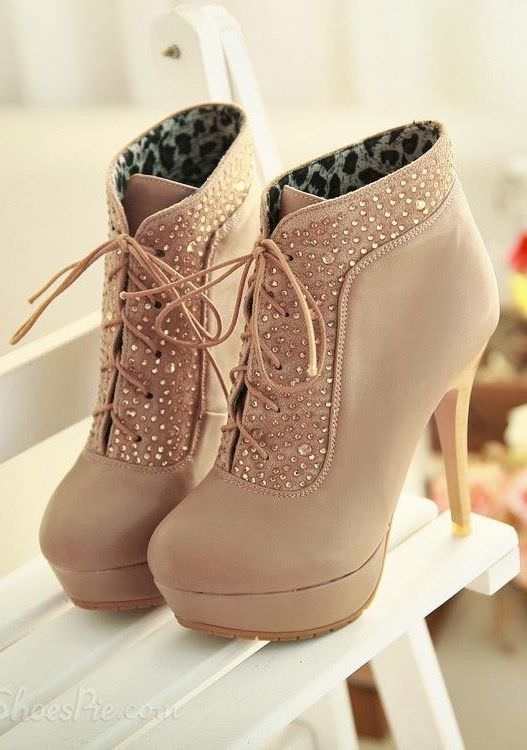Cream Color Shoes