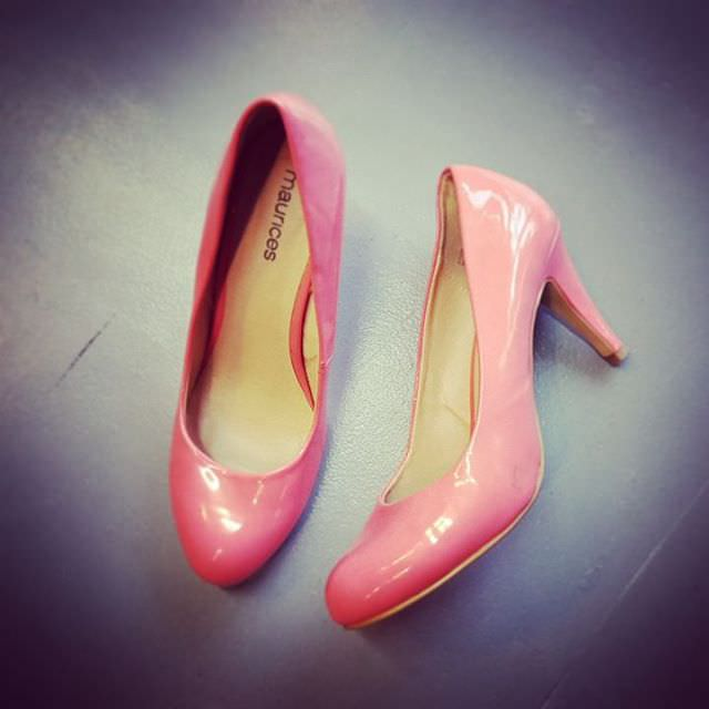 Lovely Pink Heels