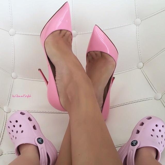 Nice Pink High Heels