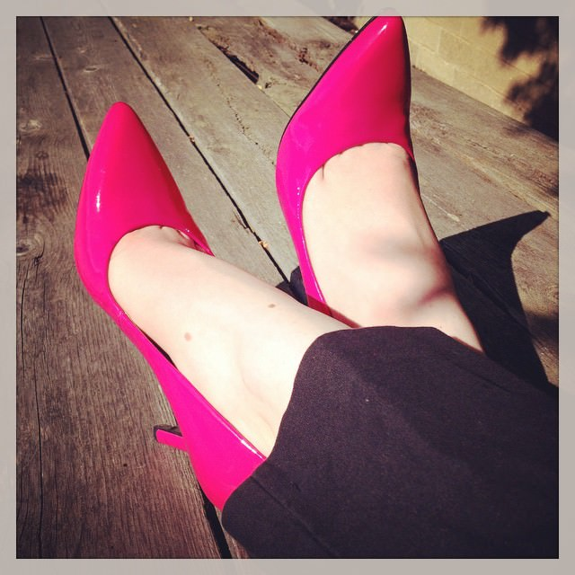 Lovable Pink Shoes For Women