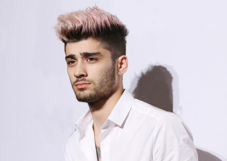 Zayn Malik Low Fade Haircut Design