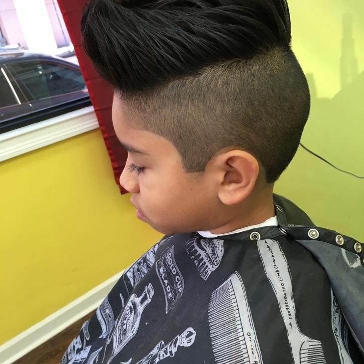 Kid's Fade Haircut Design