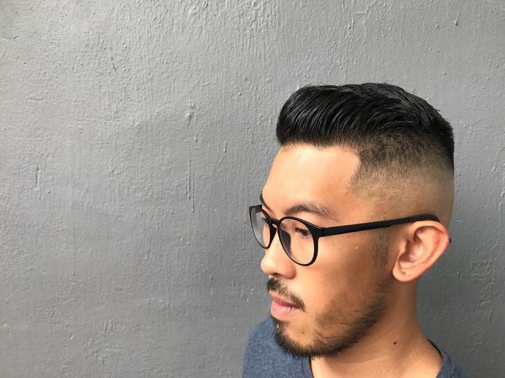 Classy Skin Fade Haircut Idea