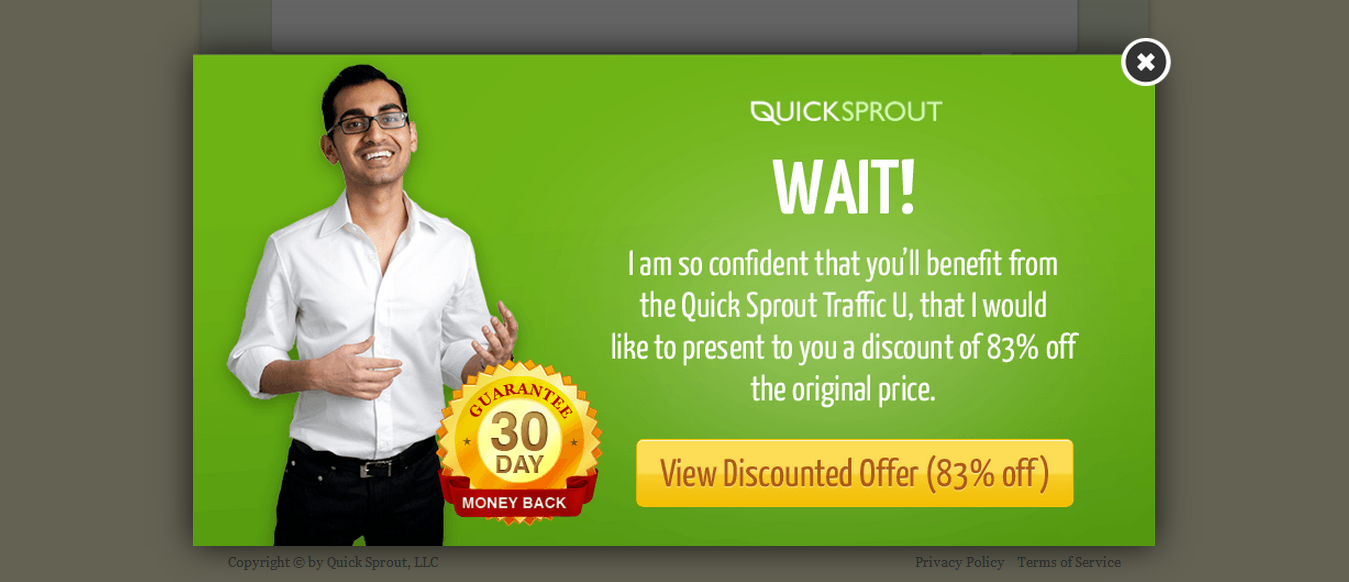 quick sprout traffic university seo and online marketing training