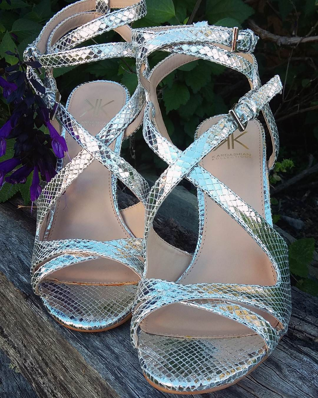 Pretty Glam Wedding Silver High Heels