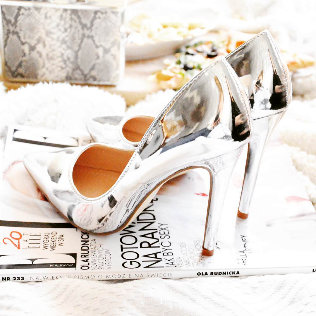 Cool Classic Silver High Heels
