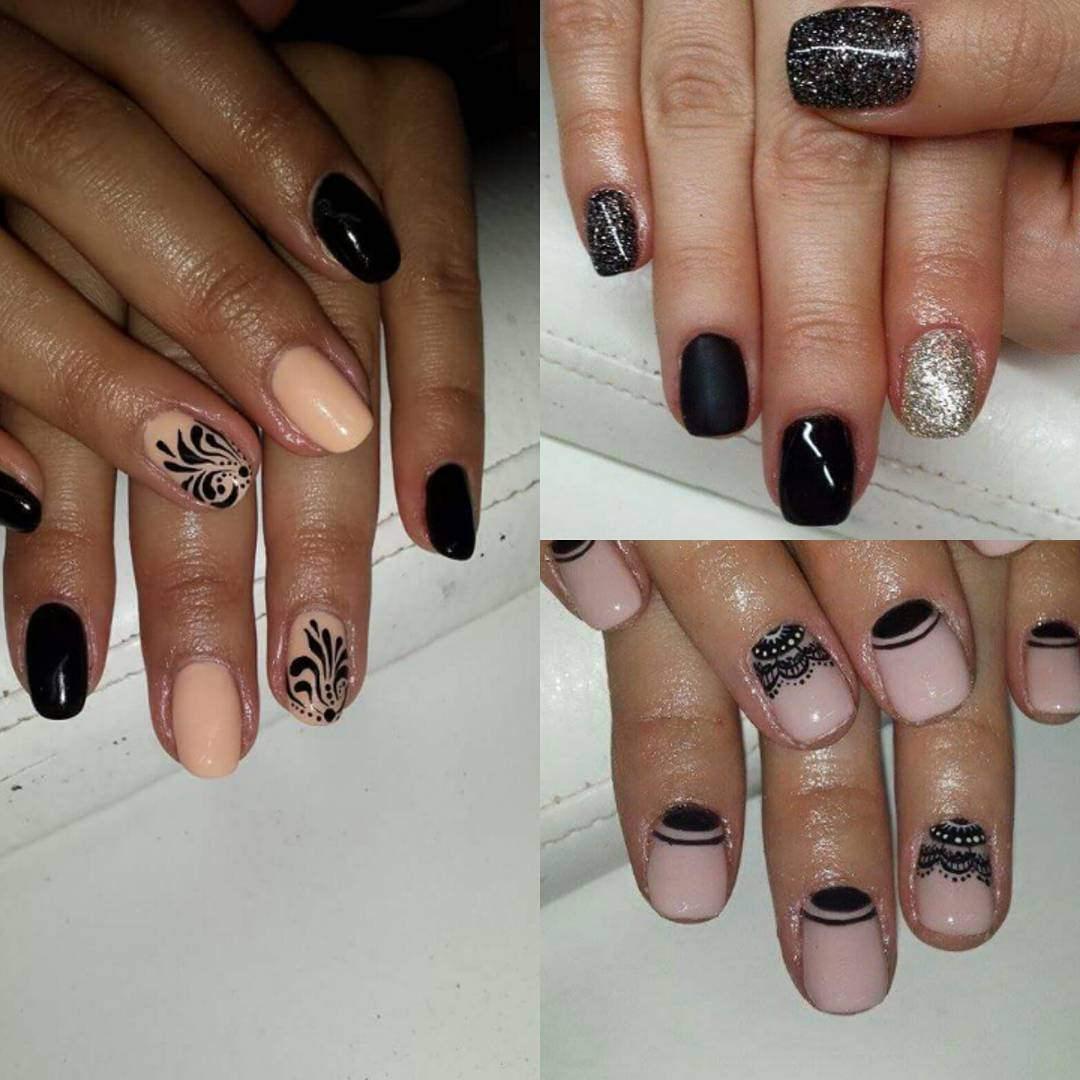Elegant Lace Nail Design