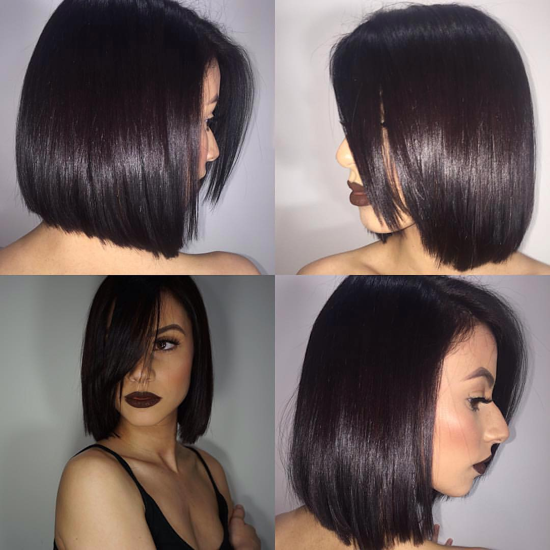 Lob Hair Style For Women