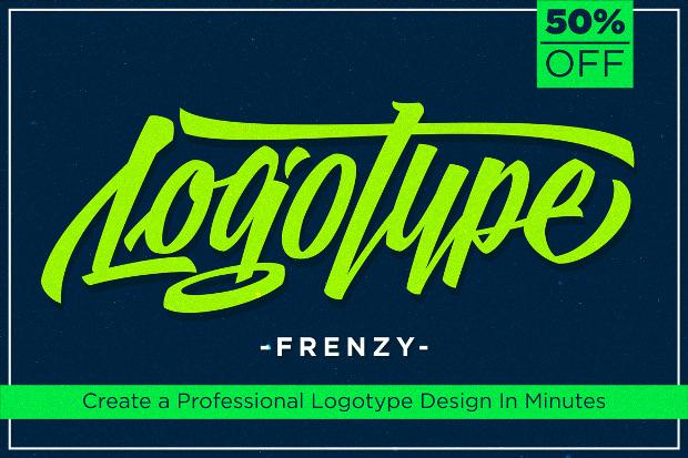 Logotype Frenzy Baseball Font
