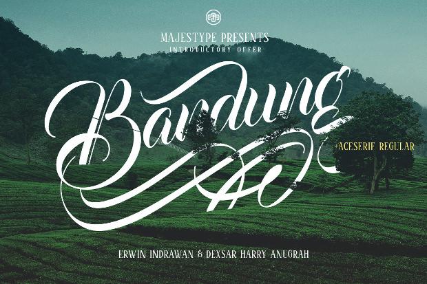 Bandung Baseball Font