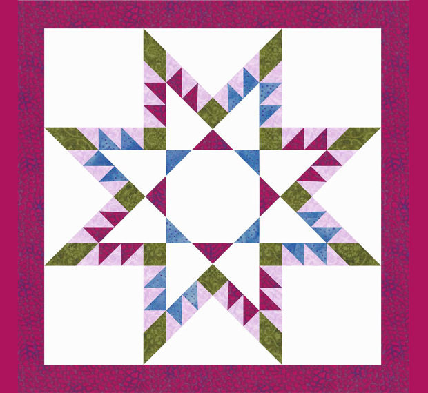 Decorative Star Quilt Patterns
