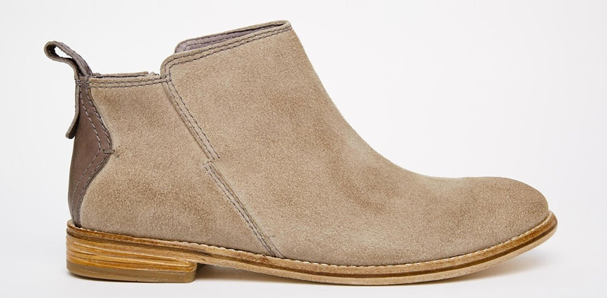 Hudson London Revelin Grey Boots