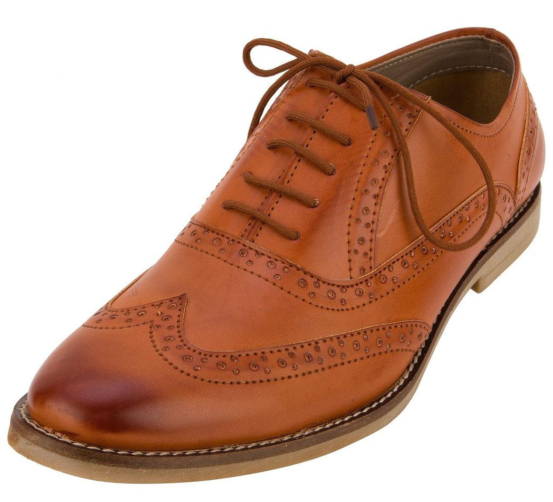 fbt men formal brogue shoes