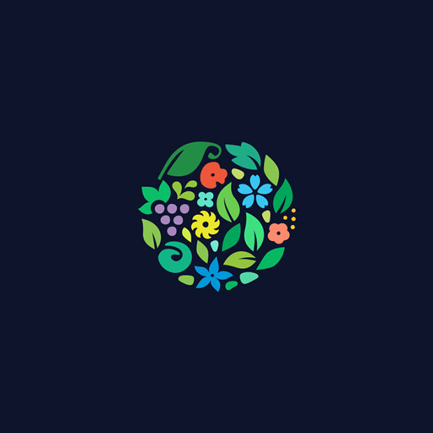 Brillant Flower Logo design