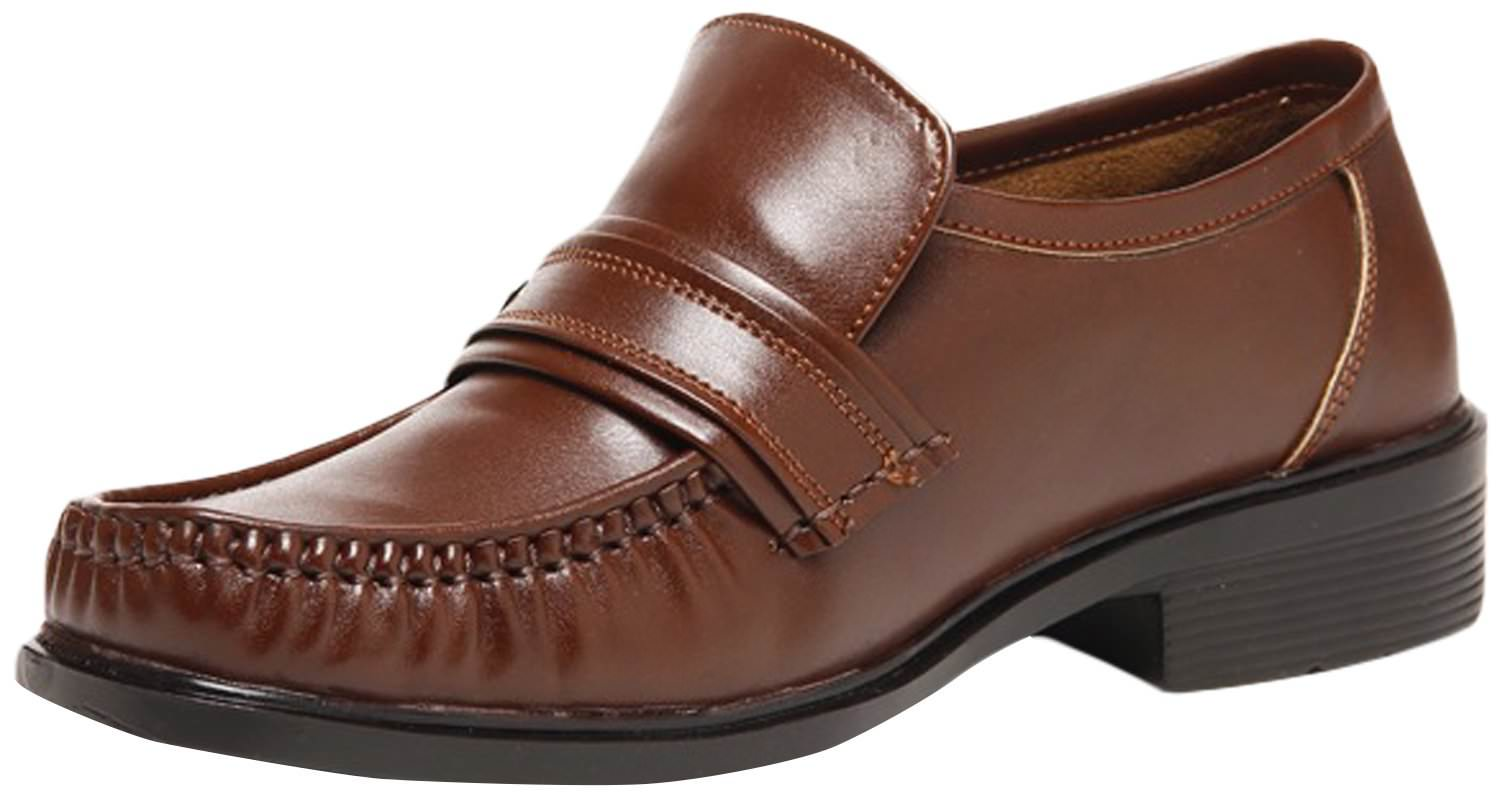 zapatoz mens synthetic leather formal shoe