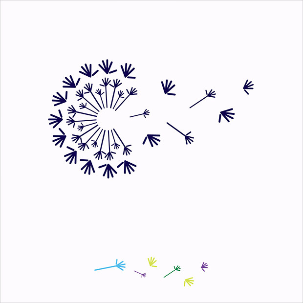 Innovative Flower Logo Illustration