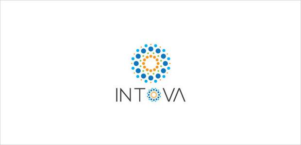 creative service flower logo