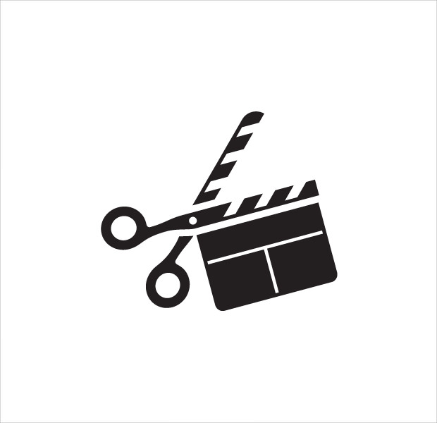 Flat Film Logo Design