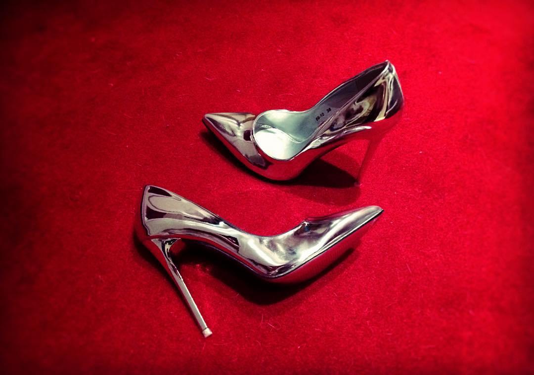 Latest Metallic Shoes