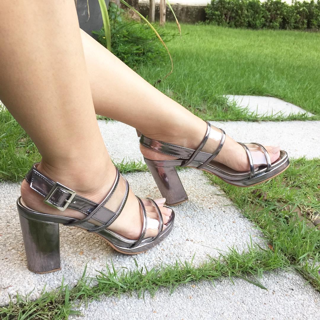 Cool Metallic Shoes