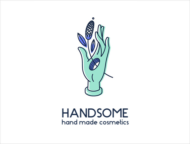 Amazing Hand Logo for Business