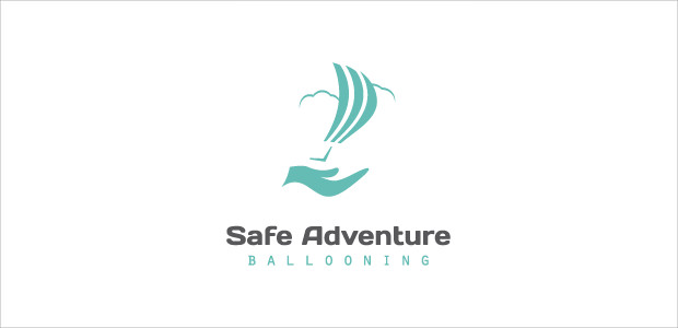 Amazing Adventurous Symbol Hand Logo
