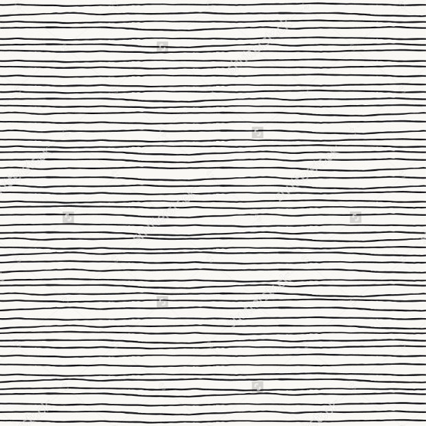 Seamless Pattern with Hand Drawn Lines