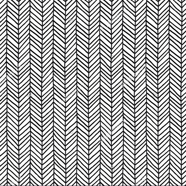 Seamless Abstract Hand Drawn Line Pattern