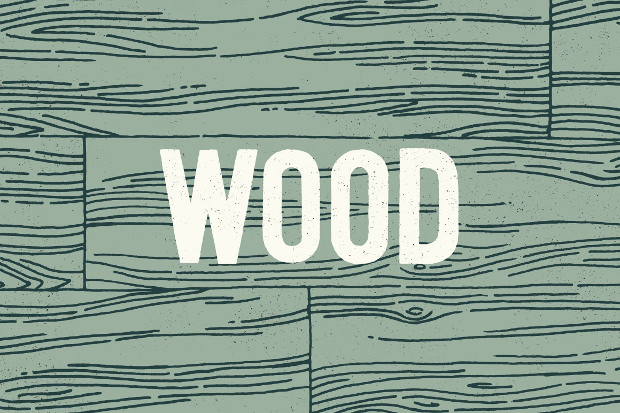 3 wood line patterns by hand