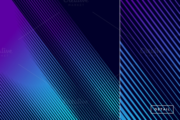 abstract lines halftone pattern