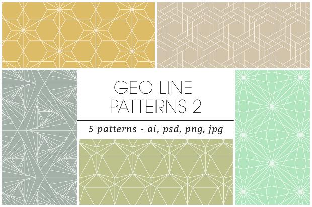 geometric line patterns 2