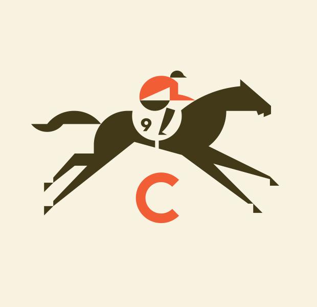 rebelious racer horse logo