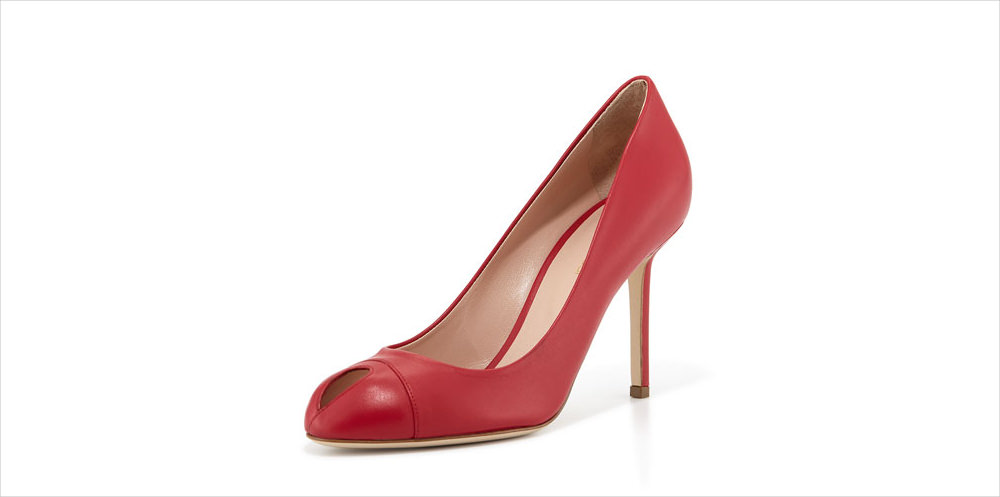 Sergio Rossi Key Hole Toe Pump