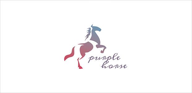 Pride Horse Logo For Company