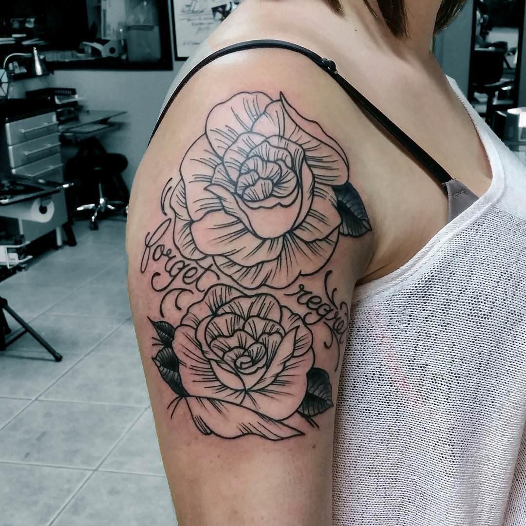 30 girl tattoo designs tattoo designs design trends. Black Bedroom Furniture Sets. Home Design Ideas