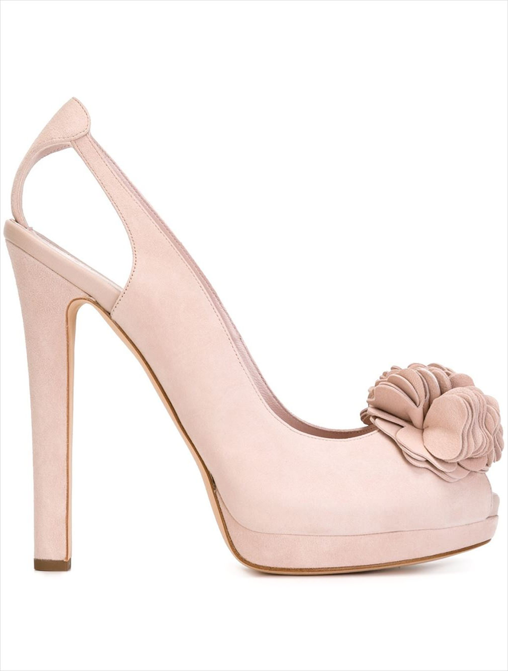 Alexander Mc Queen Flower Heels