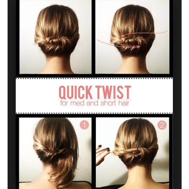 Quick Twist for Short Hairs