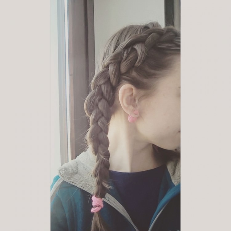 Same Side Dutch Braid