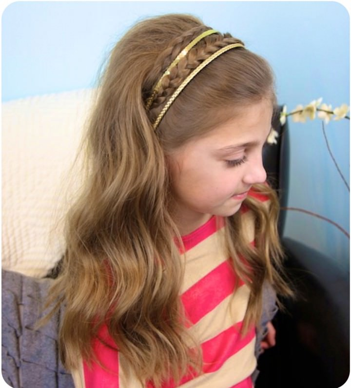 Two Minute Tuck hair style
