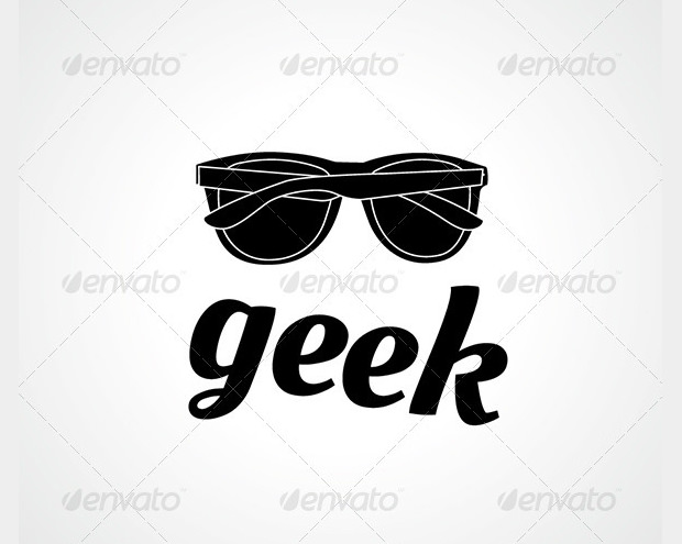 creative geek logo design