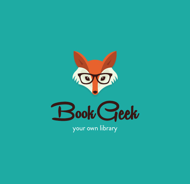 charming fox geek logo