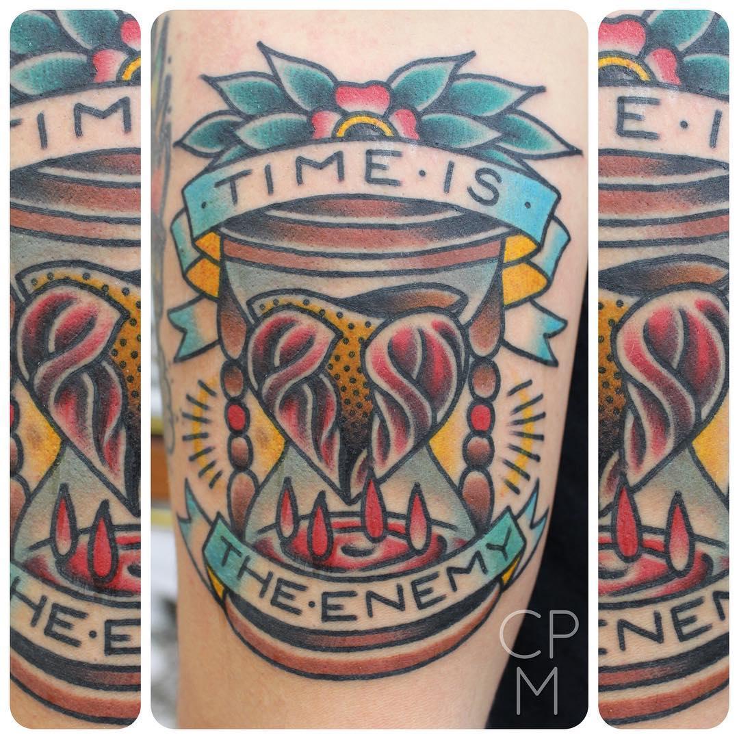 Awesome Heartbreak Tattoo.