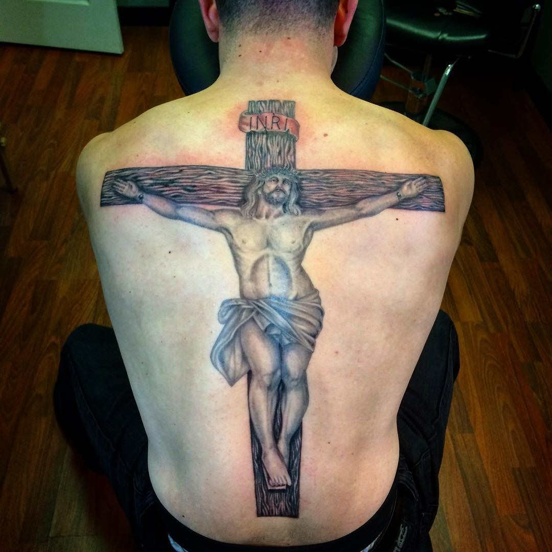 Religious Tattoo Design.