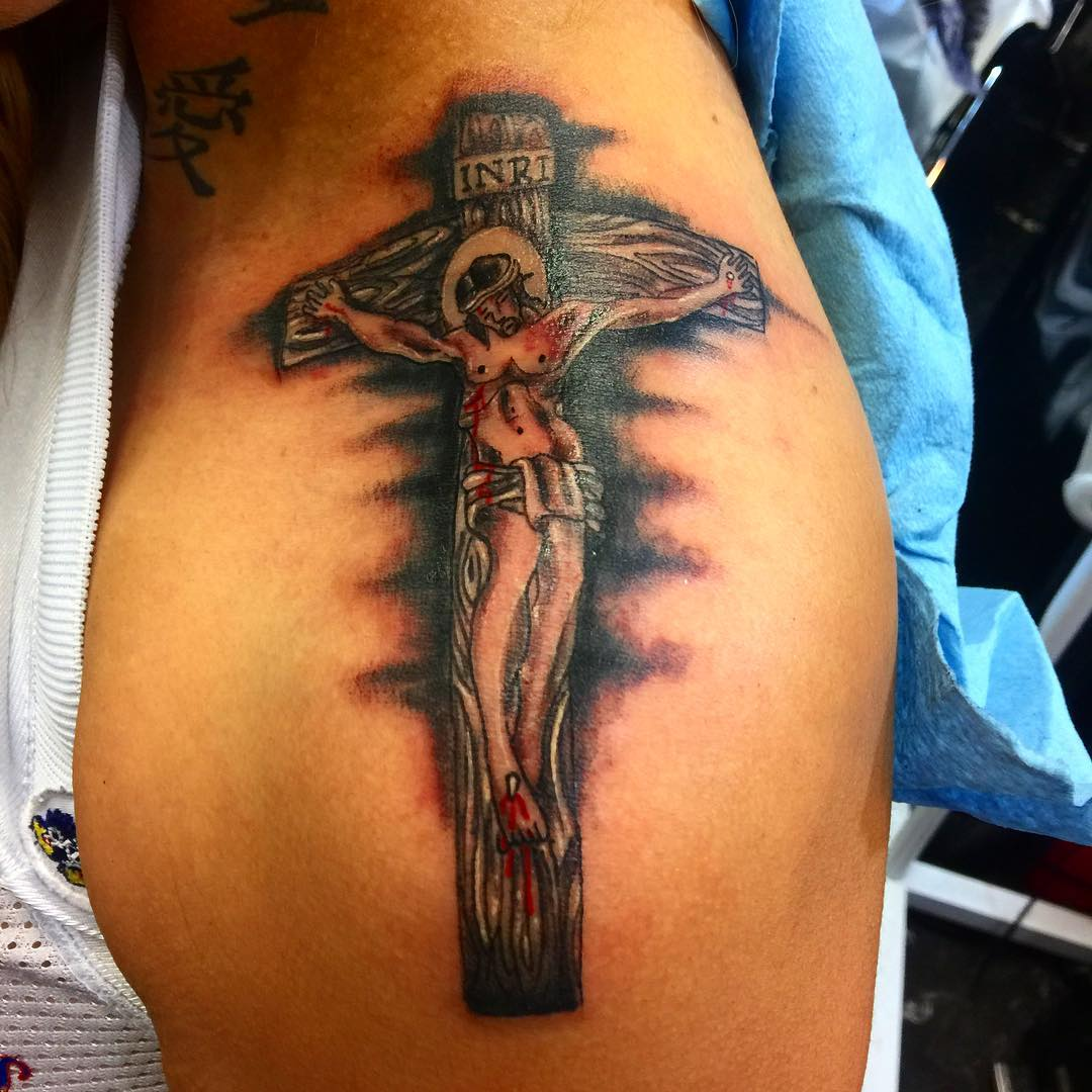 Amazing Jesus Tattoo