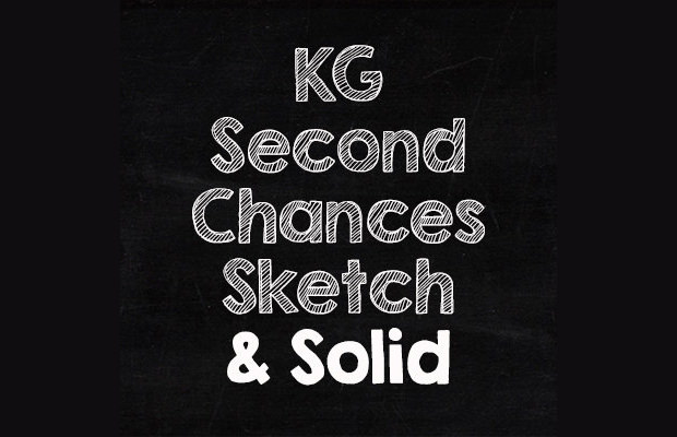 flat sketch font