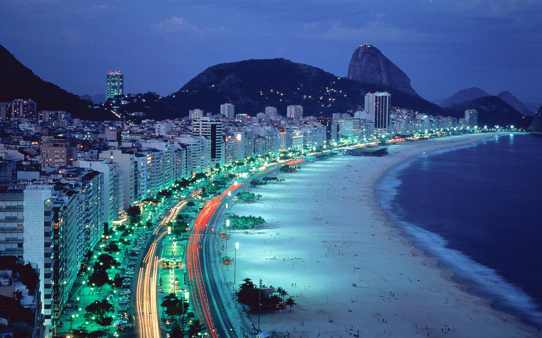 brazil coastline