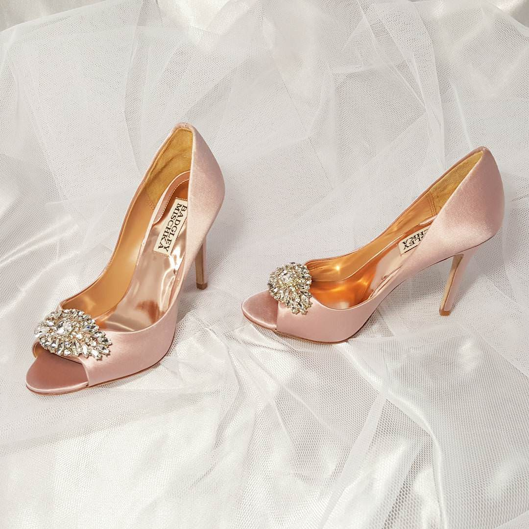Pale Pink Color Shoes