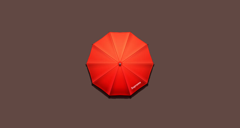 Supreme Umbrella Logo Design