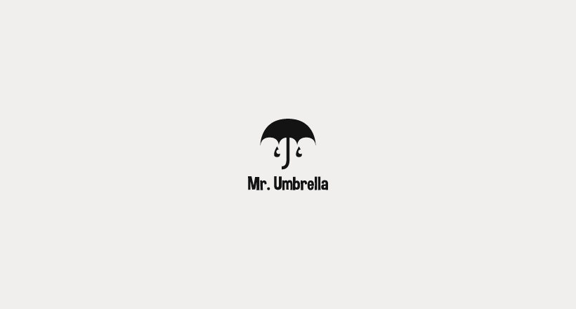 Mr.Umbrella Lodo Design