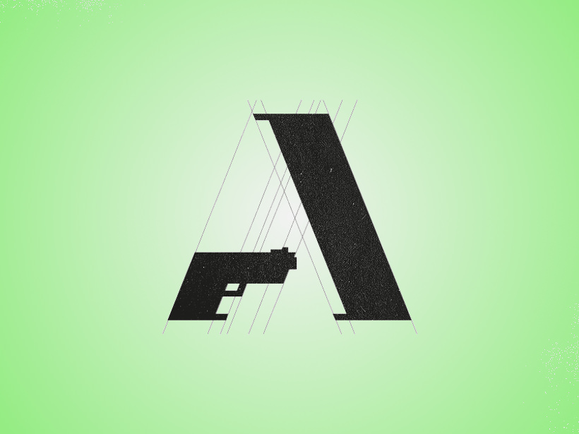 Ammunition Logo design